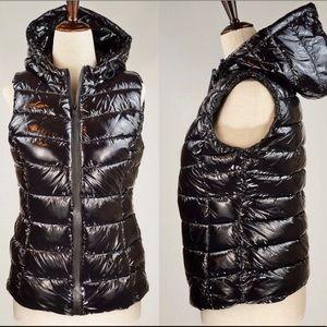 Philosophy Shiny Hooded Puffer Vest